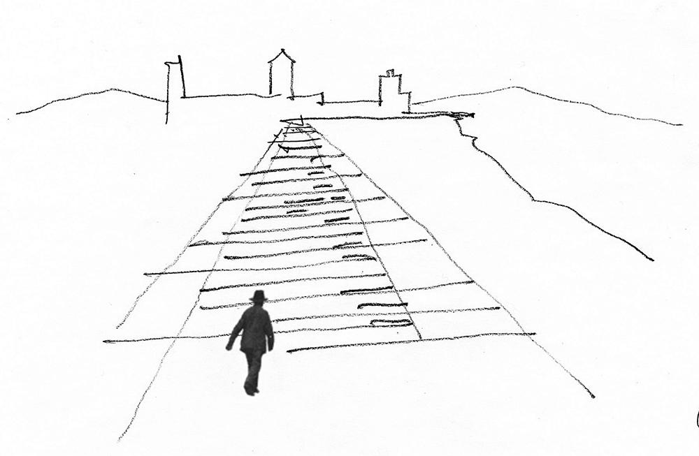 Figura 1. Croquis, idea. Tapiz e 1/1