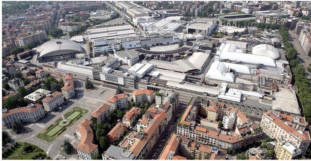 Figura 1. Feria de Milán, antes del proyecto.
