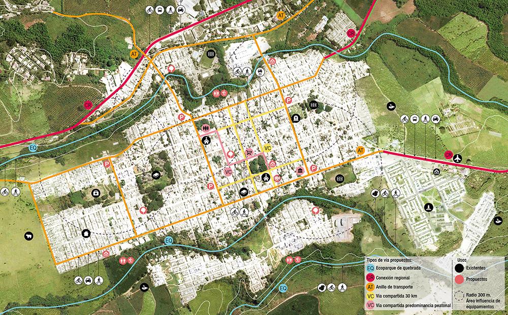 Figura 4. Planta general Municipio de La Tebaida.