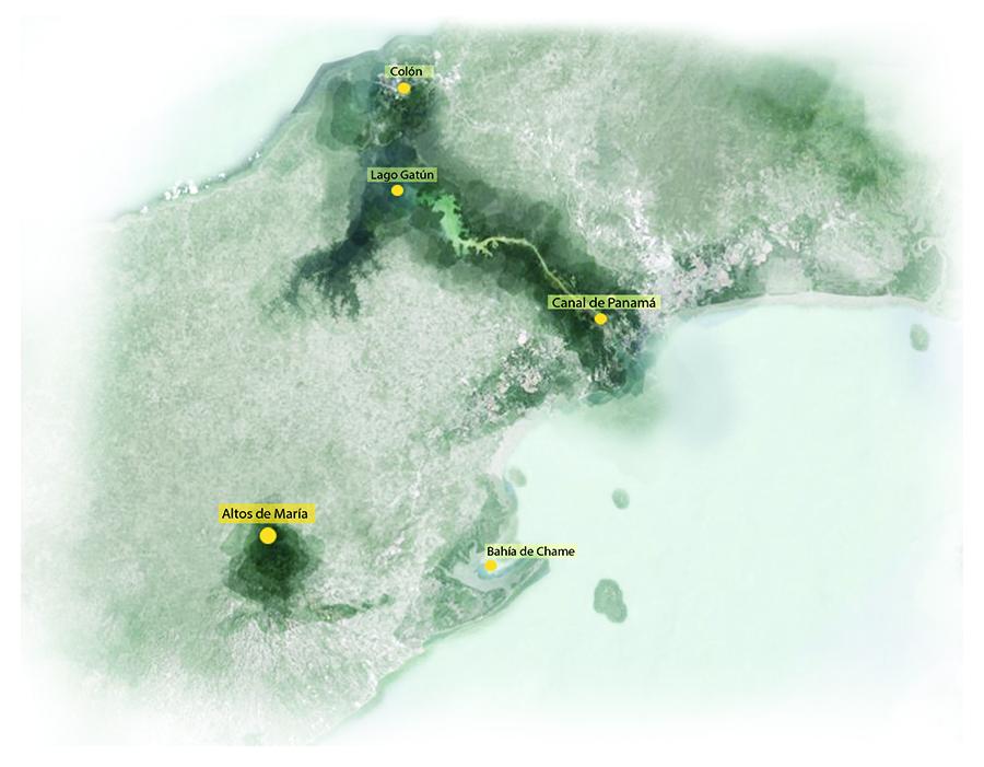 Figura 3. Localización. Fuente: Landlab, laboratorio de paisajes