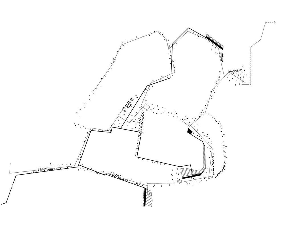 Figura 2. Trazado general de la propuesta de ordenación del espacio público.