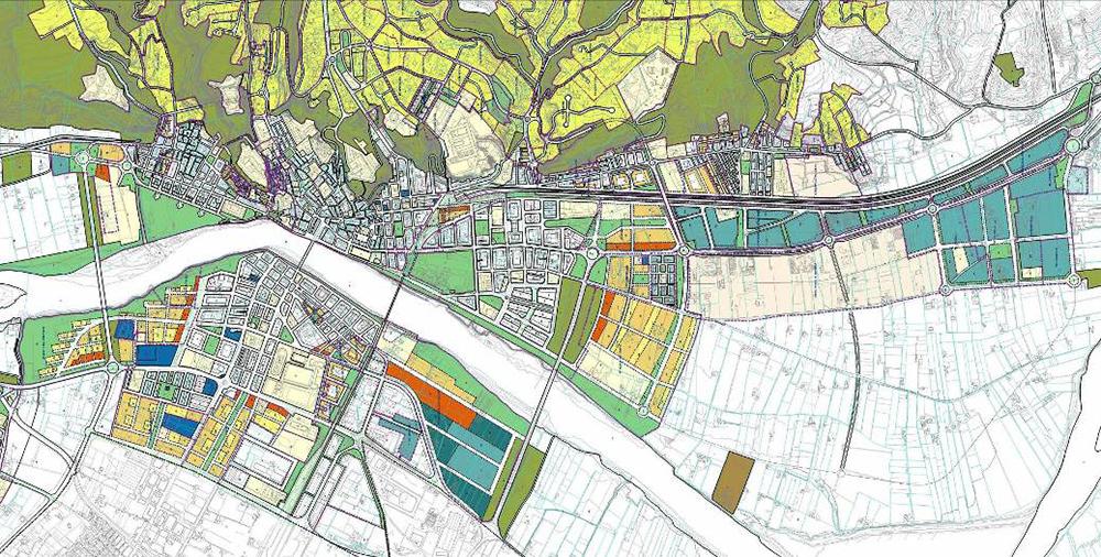 Figura 3. Plan de ordenación urbanística municipal de Tortosa.