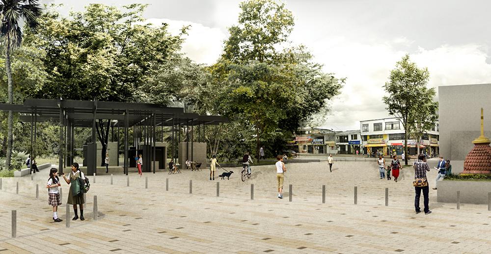 Figura 5. Ilustración etapa de proyecto Plaza Bolívar.