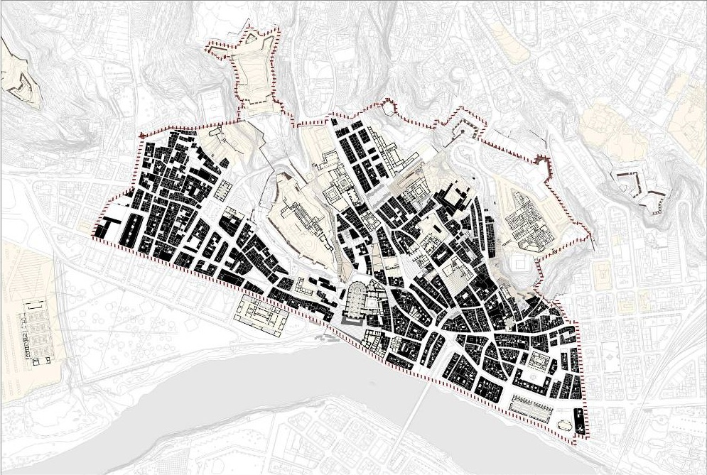 Figura 4. Centro histórico de Tortosa.