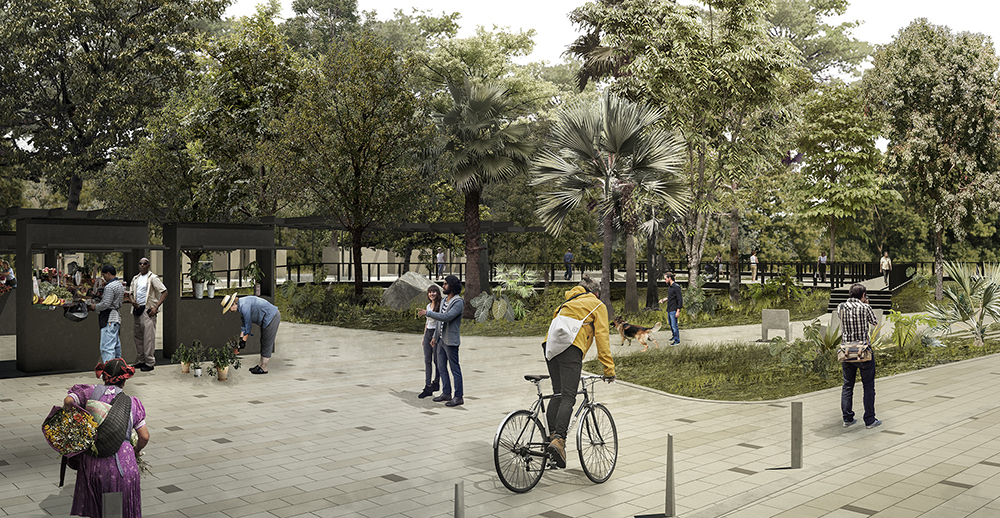 Figura 9. Ilustración etapa de proyecto Plaza Nueva.