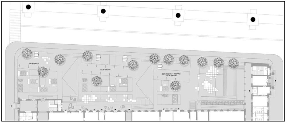 Figura 10. Plancha contra Avenida Caracas