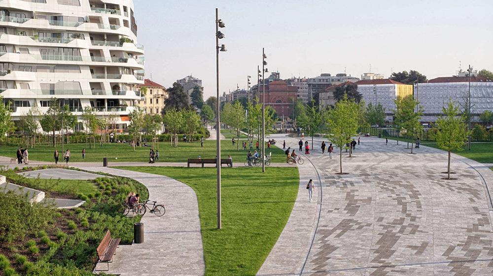 Figura 10. Eje urbano principal