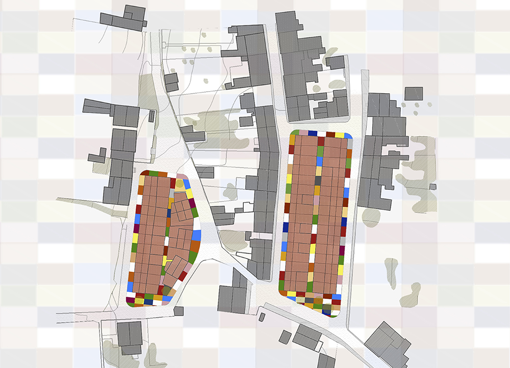 Figura 10. Planta del proyecto. Fuente: Martín Insua Calvo + José Barreiro Carreño (arquitectos)