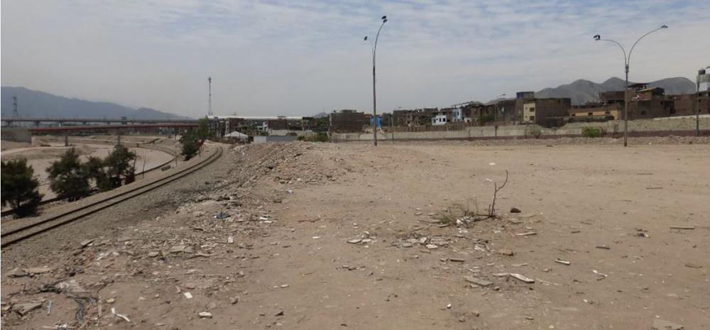 Figura 10. Vista oeste-este de la Etapa 1 del proyecto, correspondiente a la zona de Huerta Perdida y Martinette.