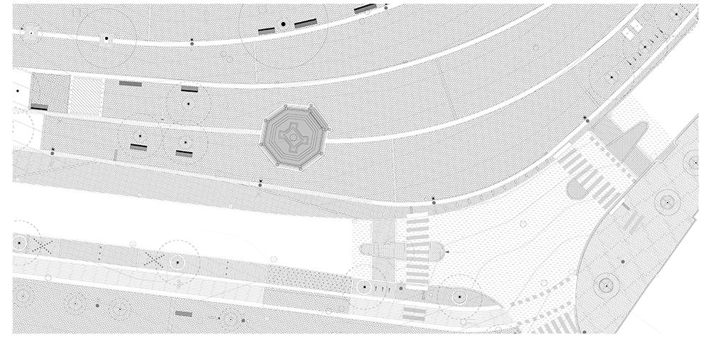Figura 10. Planta y detalle de la pavimentación.