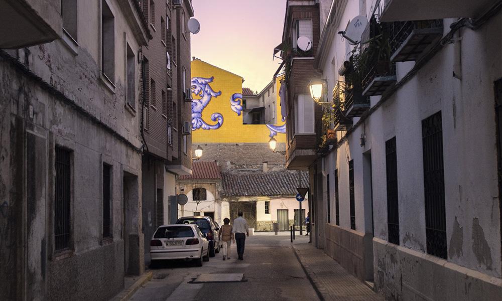 Figura 11: Vista de una de las calles de acceso a la Plaza de San Miguel.