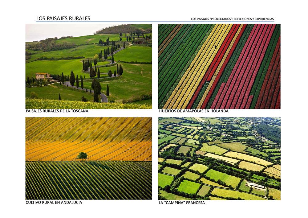 Figura 11. Los Paisajes Rurales y sus geometrías fractales.