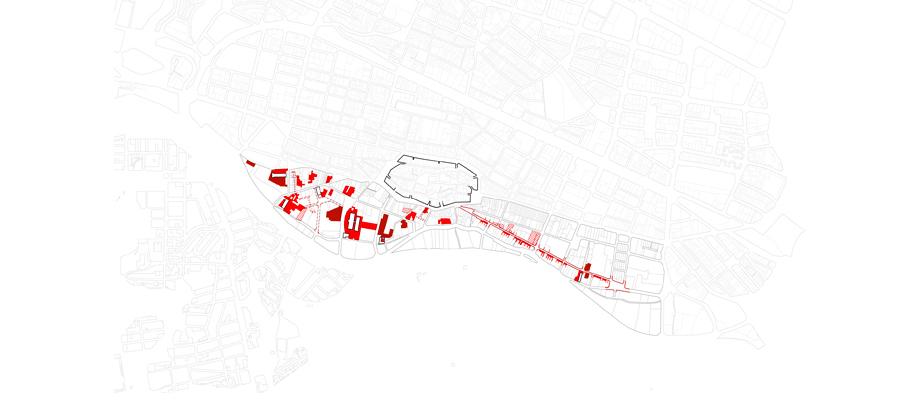 Figura 11: Estrategias. Los vacíos urbanos.