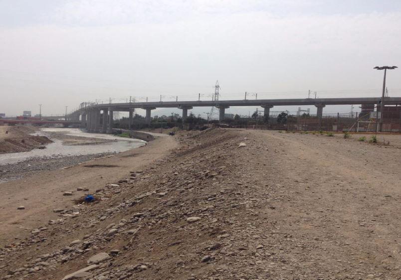 Figura 11. Vista oeste-este de la Etapa 1 del proyecto, correspondiente a la zona de Huerta Perdida y Martinette.