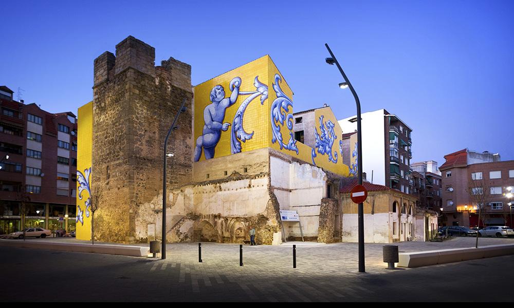 Figura 12: Plaza de San Miguel. Restos históricos integrados y puestos en valor.