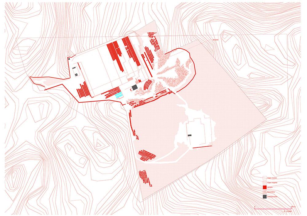 Figura 13. Planimetría del estado actual.