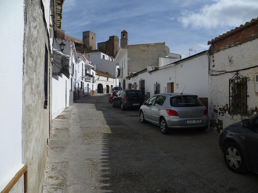 Figuras 10 y 10'. Calle Ancha y solar. Estado previo y propuesta del Compás (entonces Rincón del Marqués de Cádiz).