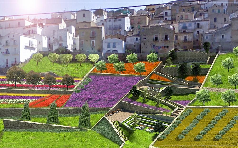 Figura 16. Vista de proyecto. Subida al centro histórico.