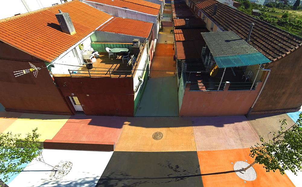 Figura 15. Vista general de la actuación. Fuente: Martín Insua Calvo + José Barreiro Carreño (arquitectos)