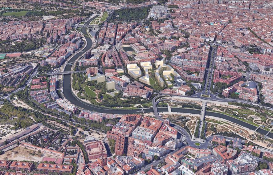 Figura 9. Vista aérea de la primera ordenación