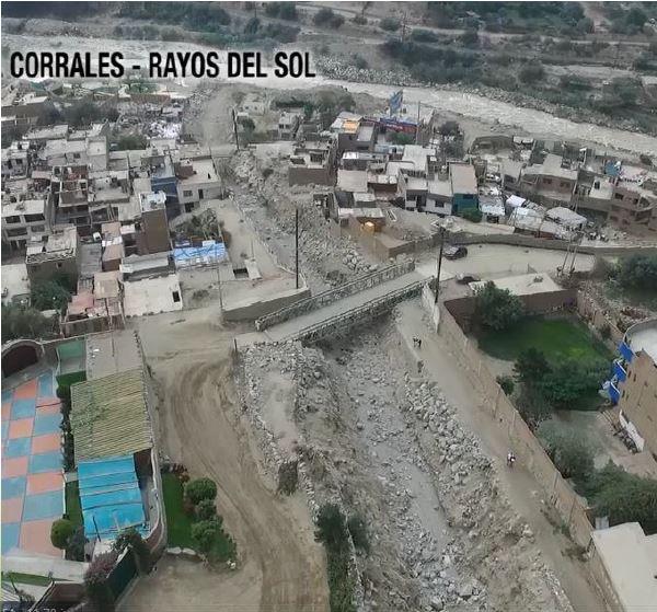 Figura 15. Propuesta río Pimac, Quebrada Corrales.