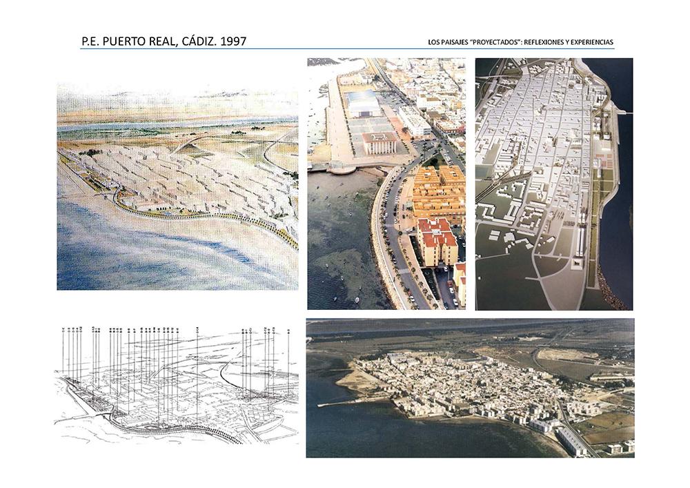 Figura  16. Planes Generales de Puerto Real y Ronda (Estudio Seguí).