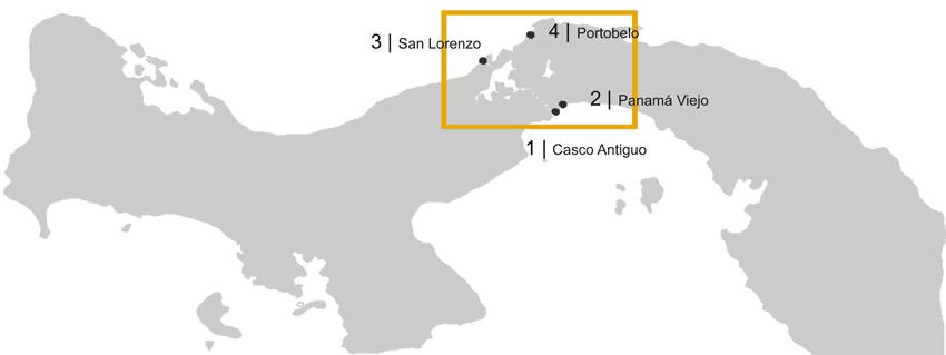 Istmo de Panamá. Contexto estratégico de gestión del paisaje cultural histórico de Panamá.