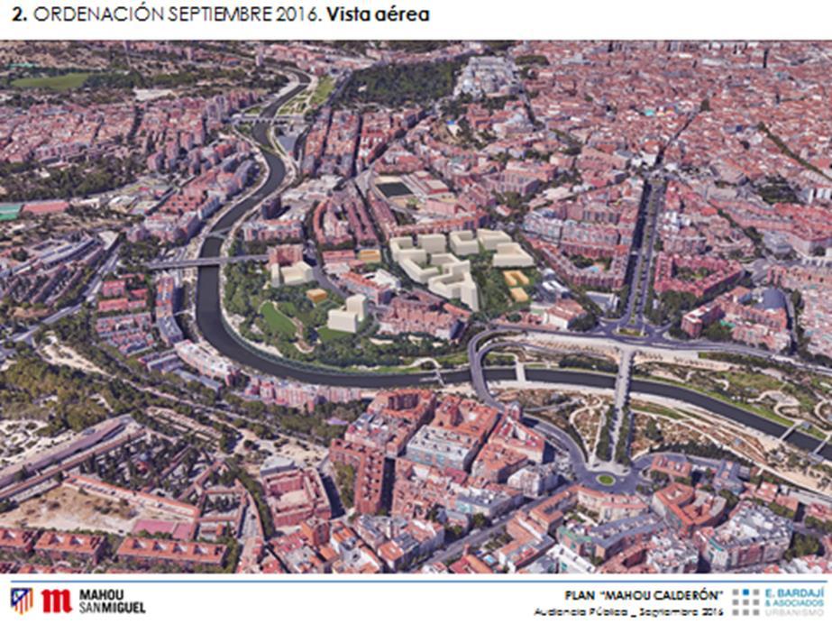 Figura 13. Vista aérea de la segunda ordenación
