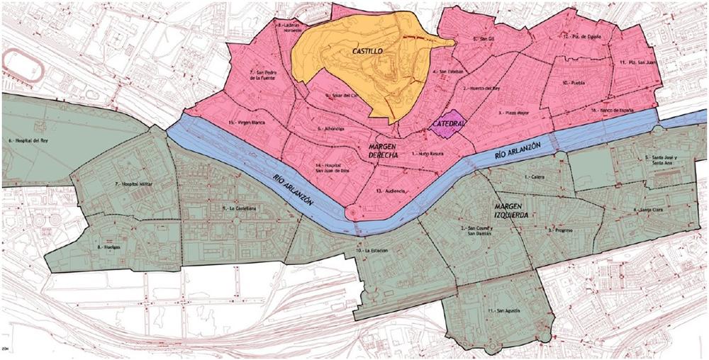 Figura 21. Las 27 Zonas