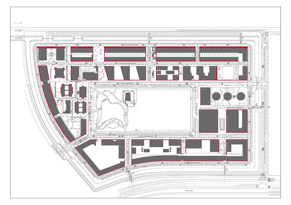 Figuras 23-27 Plano, Ayuntamiento de Ámsterdam. De izquierda a derecha, de arriba abajo, fotos de Egbert de Boer, Wouter van der Wolk, Egbert de Boer y Wouter van der Wolk.