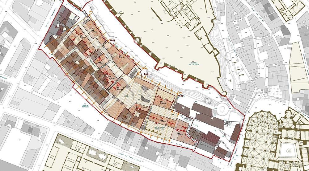 Figura 23. Regulación de edificaciones, cubierta.