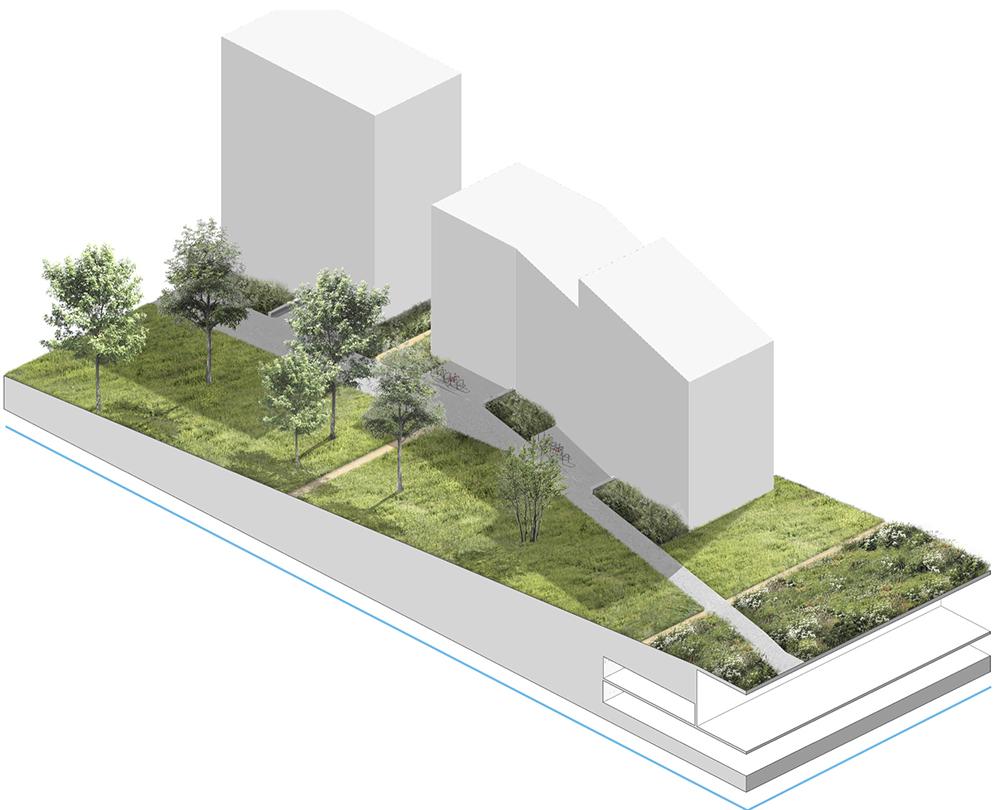 Figure 23 et 24: Boisements (gauche) et Jardins privés (droite)