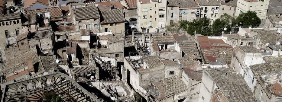 Figura 24. Área del barrio de Sant Jaume antes de la intervención.