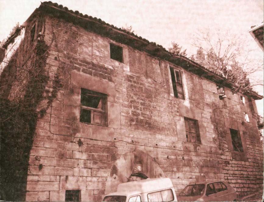 Figura 24: Imágenes de la Casa-Torre Torreta, antes y después de su rehabilitación. Fuente: Ayuntamiento de Ermua.