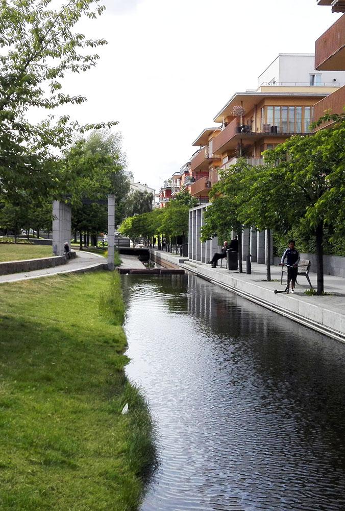 Figura 25. Parque en HammarbySjöstad