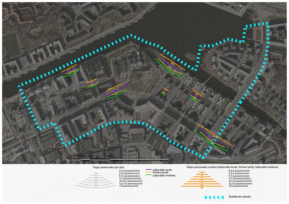 Figura 29. Plano de conteo de HammarbySjöstad. (Elaboración propia, 2017).