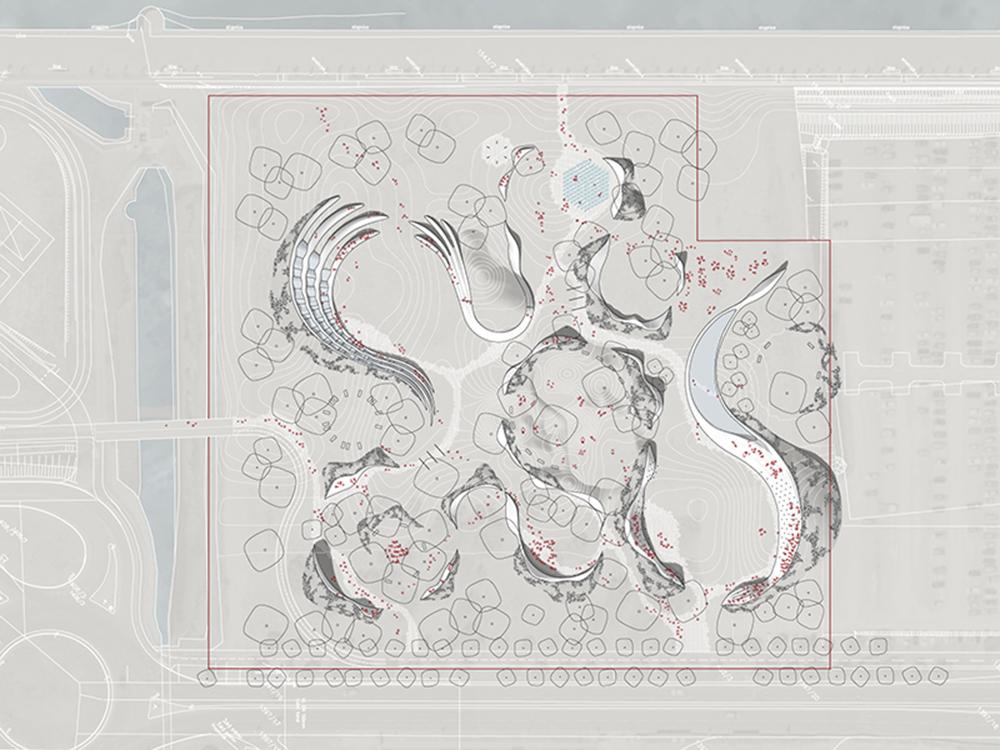 Figura 2. Planta del proyecto del parque.
