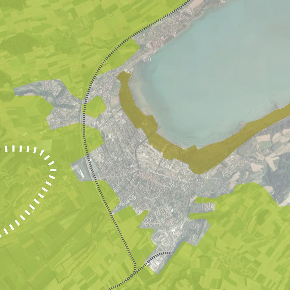 Figure 2: Présence du paysage Figure 3: Système radial des canaux Figure 4: Dépression du terrain Figure 5: Arch-plaine: un seuil stratégique