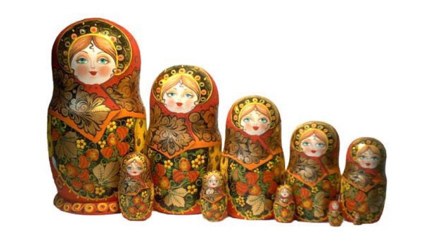 Figura 2. Juego de muñecas rusas.