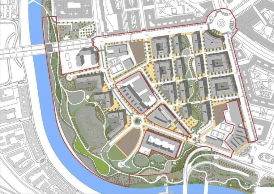 """Figura 3. La propuesta de """"ciudad clásica"""""""