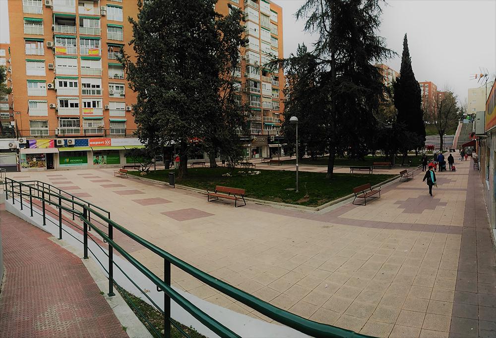 Figura 3. espacios del eje central de Santa Eugenia.