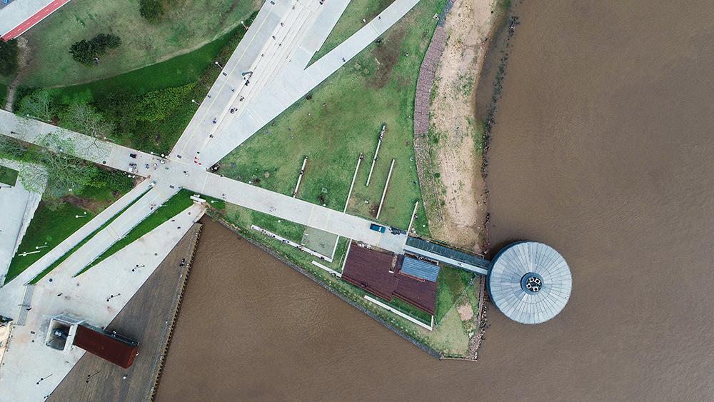 Figura 3. Vista aérea. Foto: Arthur Cordeiro