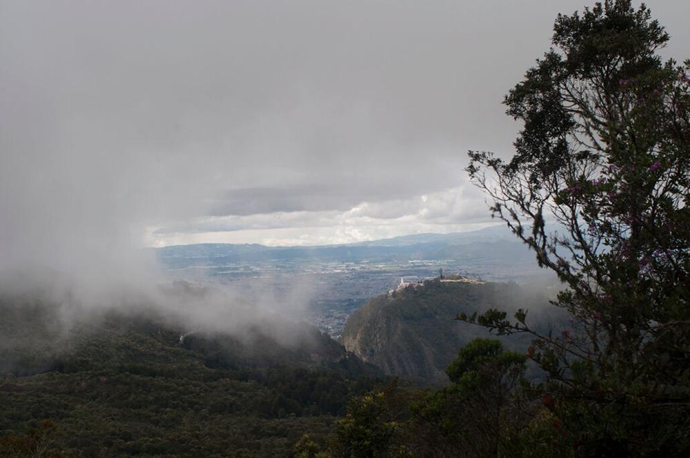 Figura 4. Los Cerros y Bogotá. Foto: Fernando Cruz.