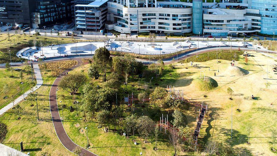 Figura 4. Skate Park y Área de Juegos Infantiles