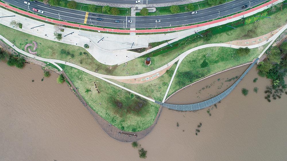 Figura 7. Vista aérea. Foto: Arthur Cordeiro.