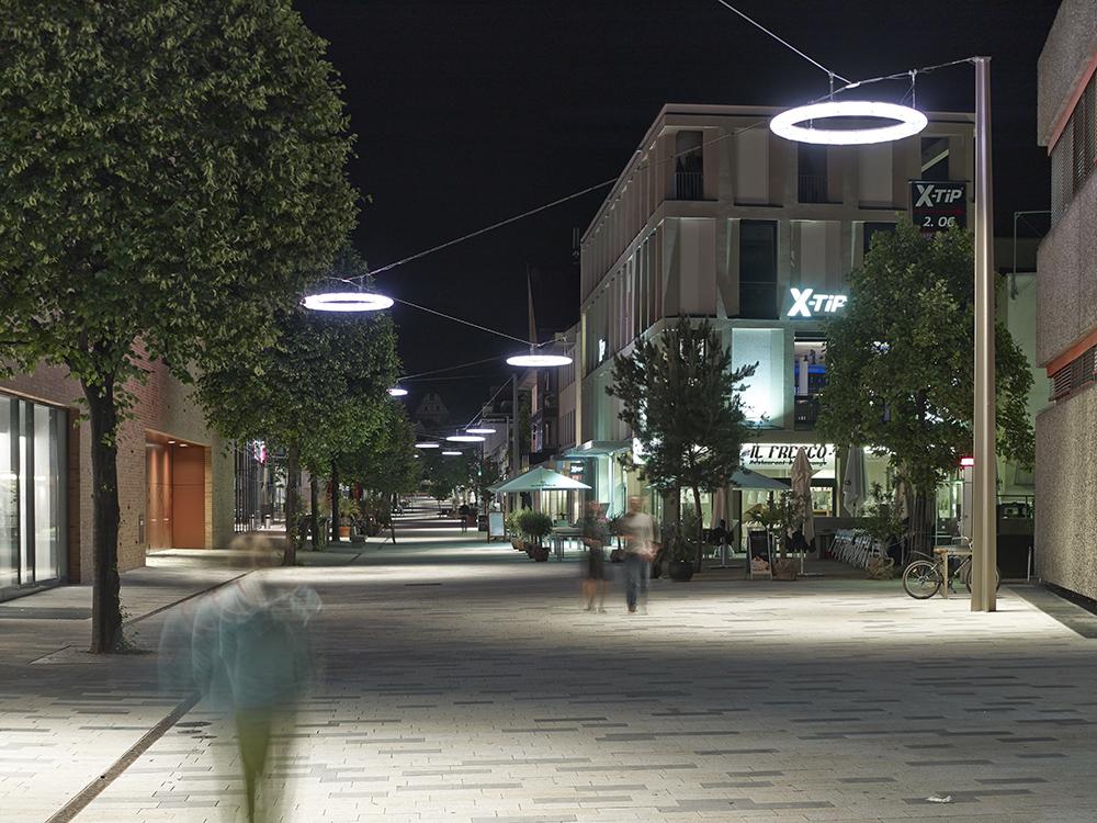 Figura 7. Vista de la iluminación nocturna. Fotografía: Clemens Franke.