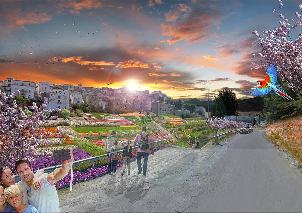 Figura 9. Vista de proyecto: acceso de Ponte del Carmine.
