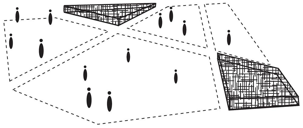 Figura 9. Esquemas de los espacios irregulares. ©InsideOutside