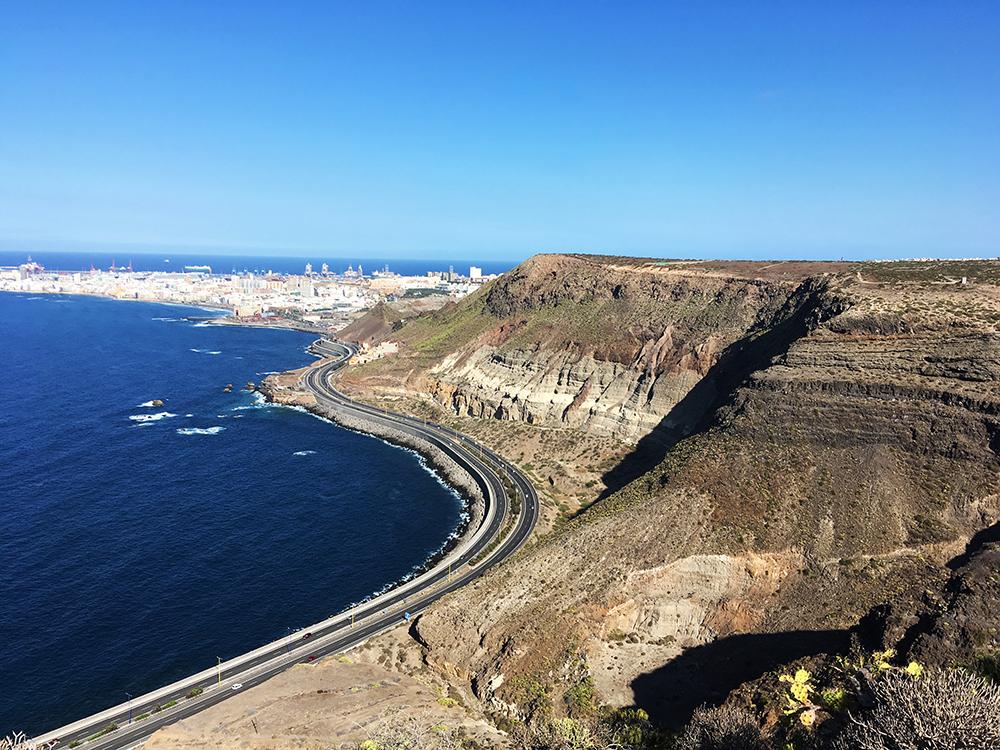 Figura 13. Panorámica, El Rincón, La Isleta y Las Palmas de Gran Canaria