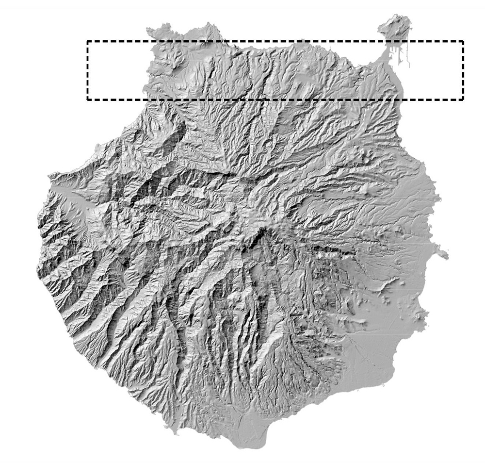 Figura 1. Gran Canaria Figura 2. Costa Norte de Gran Canaria, GC-2